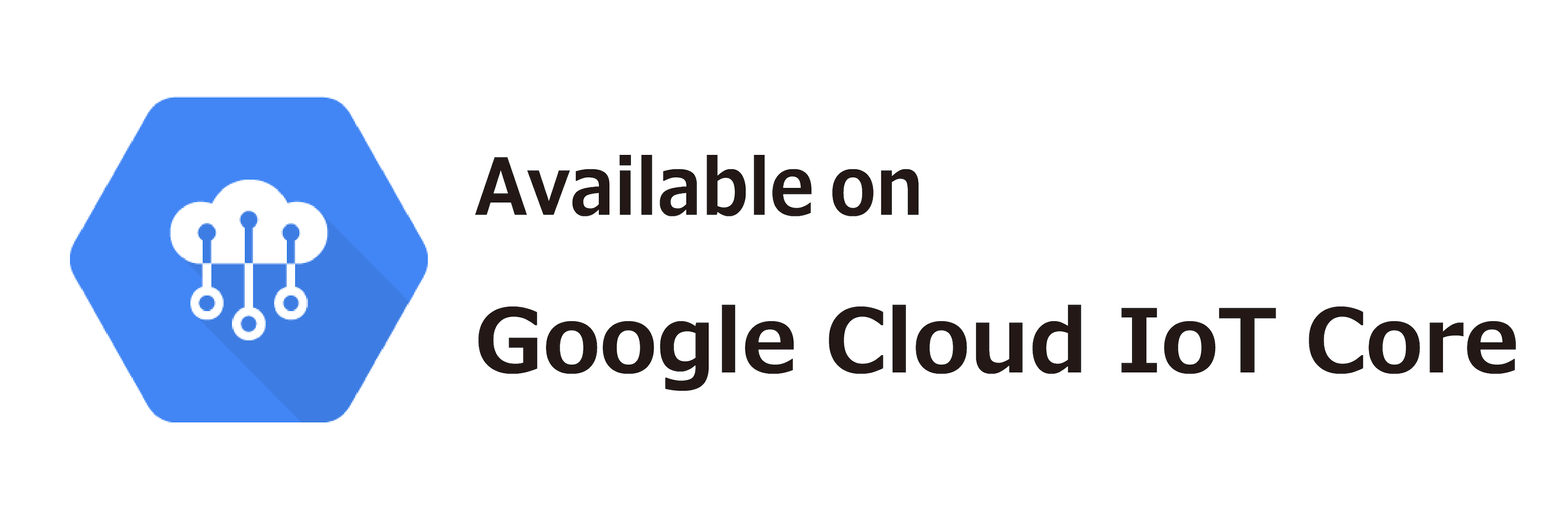 available on Google Cloud IoT Core